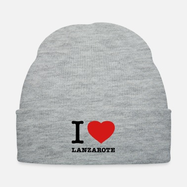 I LOVE LANZAROTE - Knit Cap