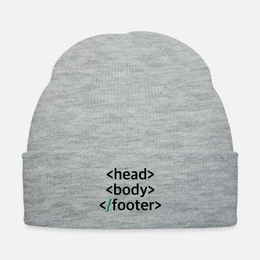 Css head_body_footer - Knit Cap