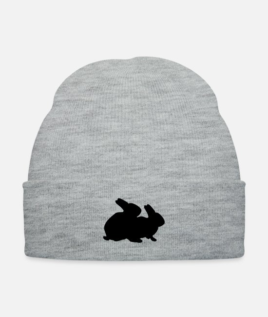 Artist Caps & Hats - Famous Rabbits - Knit Cap heather gray