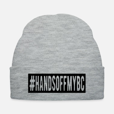 Womens Donald Trump Hands Off My BC - Knit Cap