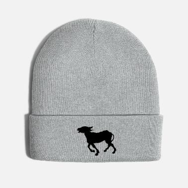 Riding Donkey Donkey beaming - Knit Cap