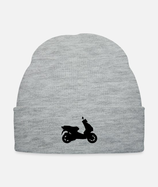Drive (go By Car) Caps & Hats - roller_f1 - Knit Cap heather gray