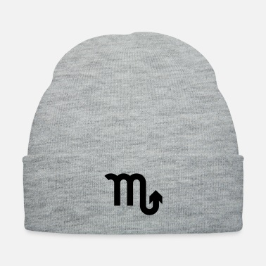 October Astrology Scorpio Scorpion Zodiac Sign Symbol 23 - Knit Cap