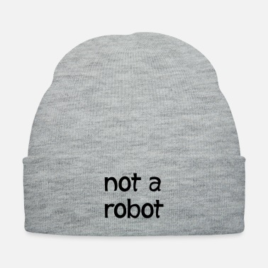 Robot not a robot - Knit Cap