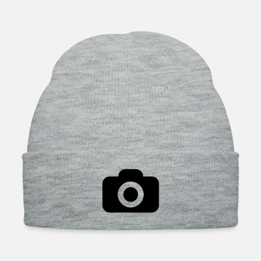 Picture Instant camera to take picture of special - Knit Cap
