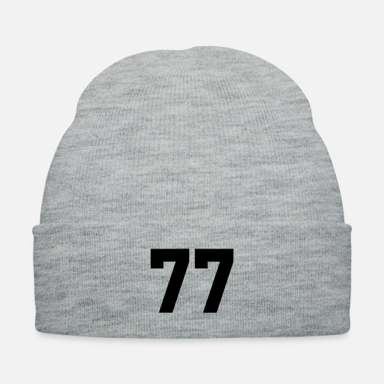 Soccer Caps - 77 - Knit Cap heather gray