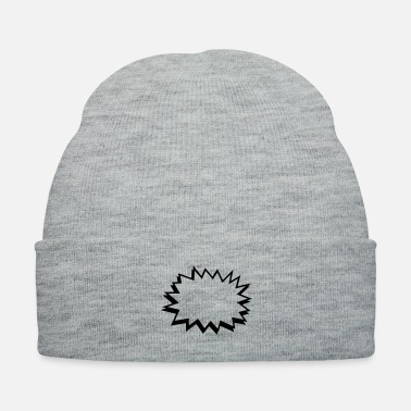 Comics comic bubble - Knit Cap