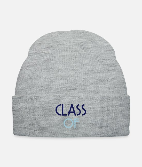 I Love Graduation Happiest Day Of My Life Thank Caps & Hats - ♥ټYay Finally Graduated-Vector Class of♥ټ - Knit Cap heather gray