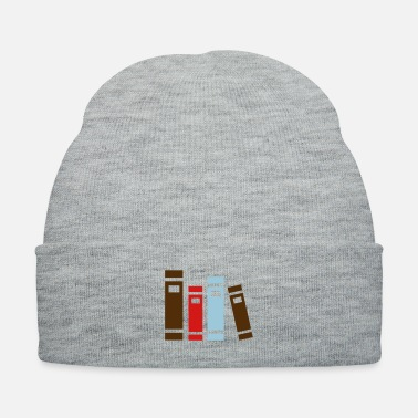 High School Graduate books for studying and high school graduation - Knit Cap