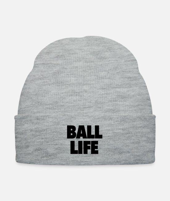Ball Caps & Hats - ball life - Knit Cap heather gray
