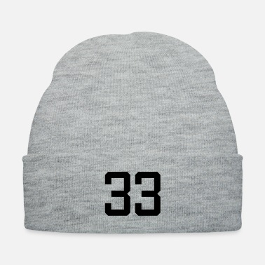 number 33 - Knit Cap