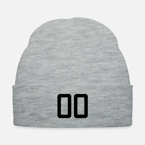 Hundred Caps - number 00 - Knit Cap heather gray