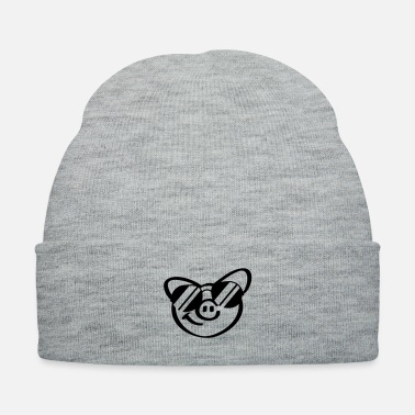 Sow Cool Pig Face - Knit Cap