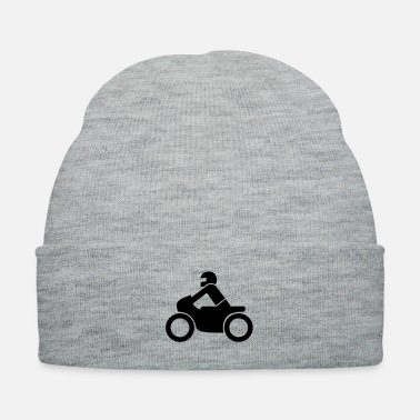 Bike Motorcycle Icon - Knit Cap