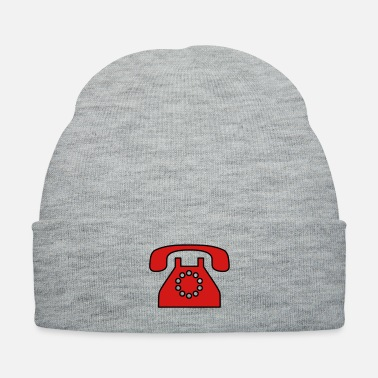 Fashion Old fashioned phone 2 - Knit Cap
