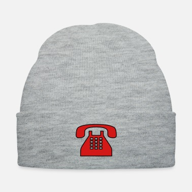 Fashion Old fashioned phone - Knit Cap