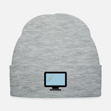 Computer Science computer monitor present - Knit Cap