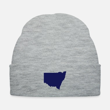 South America Australia New South Wales State Silhouette - Knit Cap