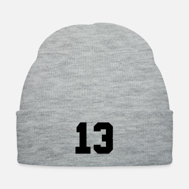 Lucky Number Number 13 - Knit Cap