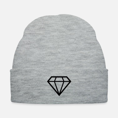 Shape diamond shape - Knit Cap