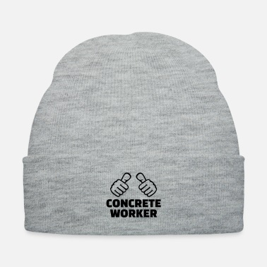 Worker Concrete worker - Knit Cap