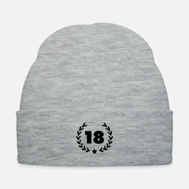 Golden Crown 18_number__laurel___f1 - Knit Cap