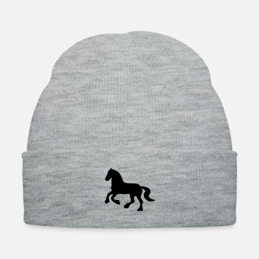 Show Jumping Fresian or Gypsie Cob type Horse - Knit Cap