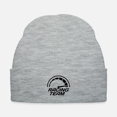 Lawn Racing team speedometer quick lawn - Knit Cap