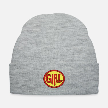 Super Woman Super, Hero, Heroine, Super Girl - Knit Cap