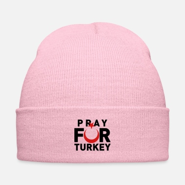 Turkey Pray For Turkey - Knit Cap