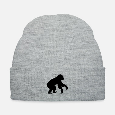 Chimpanzee Monkey Ape - Knit Cap