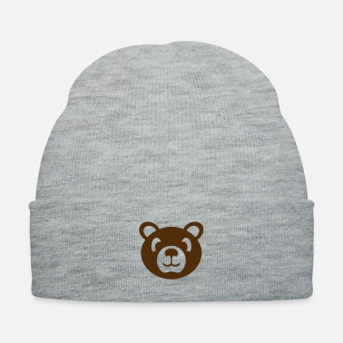 Animal Welfare bear wild animal stuffed animal - Knit Cap