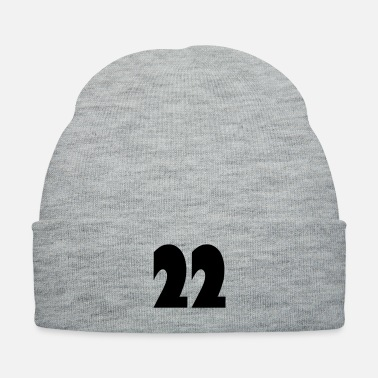 Age ❤️★Number Twenty-Two Best Jersy Number & Best Age★ - Knit Cap