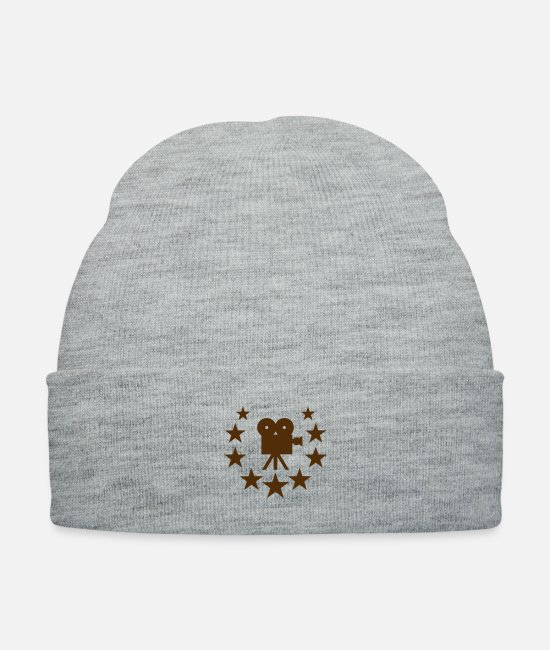 Eco Caps & Hats - film star - Knit Cap heather gray