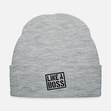 Unemployed like_a_boss__f1 - Knit Cap