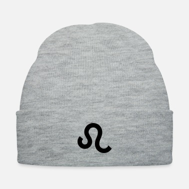 August Astrology Leo Lion Zodiac Sign Symbol 22 July-23 - Knit Cap
