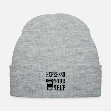 Cappuccino expresso your self - Knit Cap