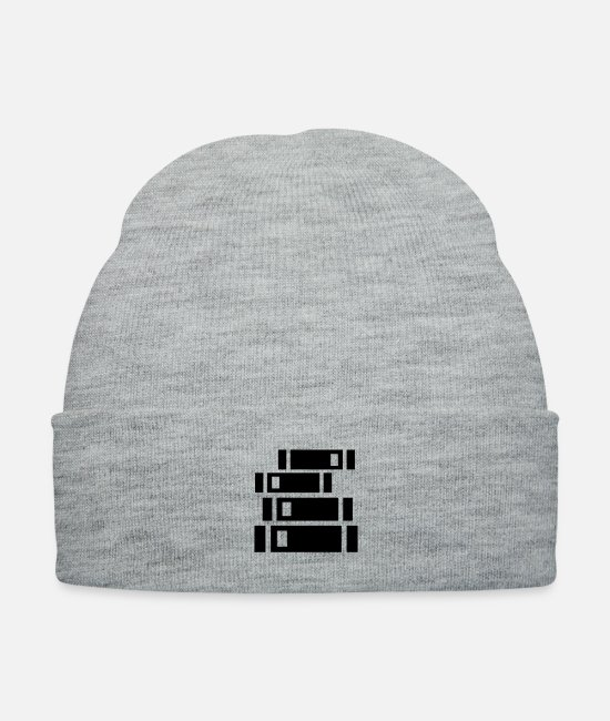 Studies Caps & Hats - Pile of books - Knit Cap heather gray