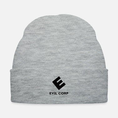 Anonymous evil corp mr robot fsociety - Knit Cap
