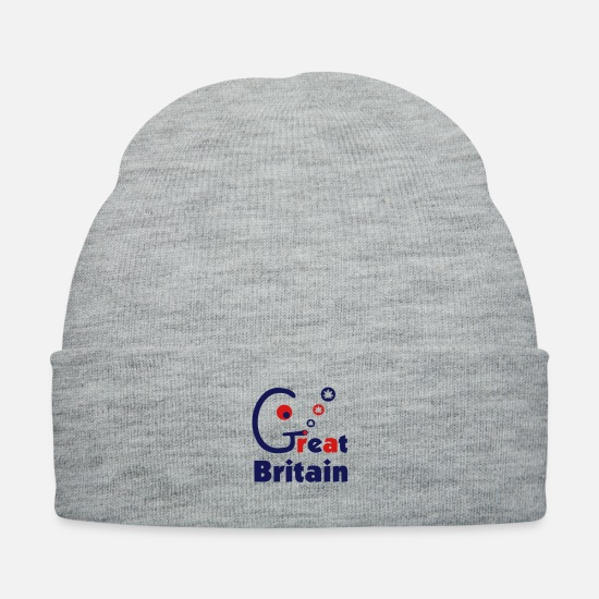 Pothead Caps - Great Britain - Knit Cap heather gray