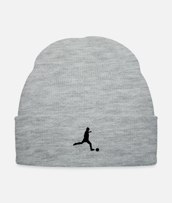 Ball Caps & Hats - Soccer - Knit Cap heather gray