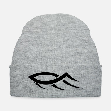 Jesus Tribal Jesus Fish HD VECTOR - Knit Cap