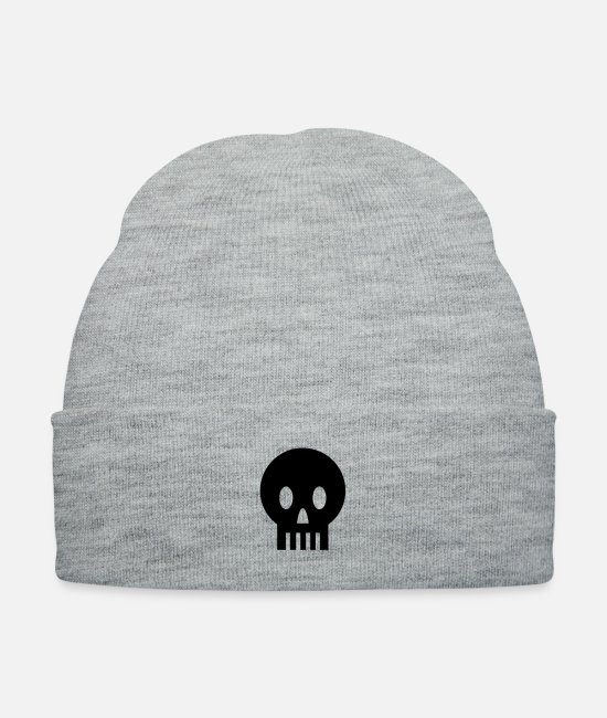 Minimum Caps & Hats - Skullfriend - Knit Cap heather gray