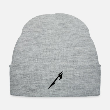 Metal Music Abbreviated Metal - Knit Cap