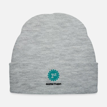 Marathon 1st Marathon | Shirt for Runners - Knit Cap