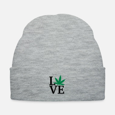 Hashish I love weed - Knit Cap