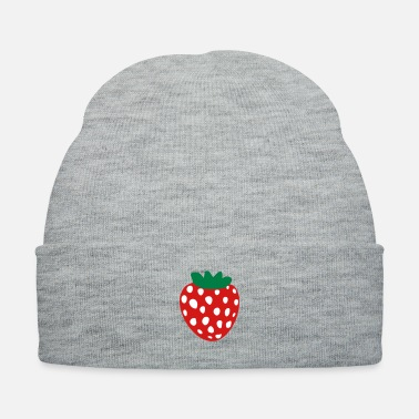 Shape Strawberry Fruit - Knit Cap