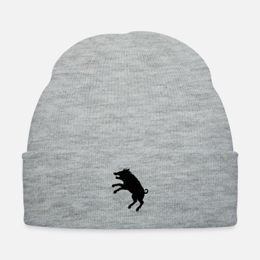 Coat Of Arms Wild Boar - Coat Of Arms - Knit Cap