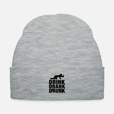 Farewell drink_drank_drunk__f1 - Knit Cap