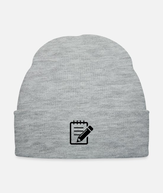 Cut Caps & Hats - Icon - Knit Cap heather gray